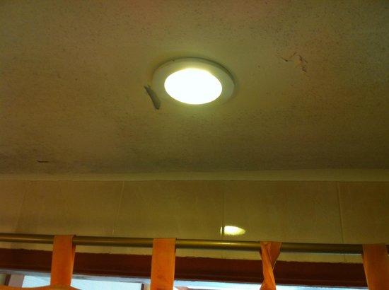Baumanburi Hotel : Desconchados en el techo