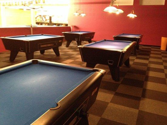 Bowling Univher : Les pool anglais