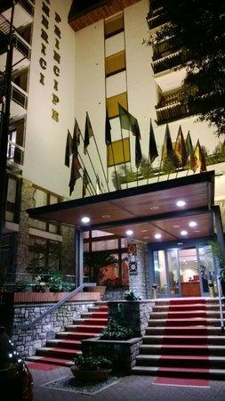 Grand Hotel Tamerici & Principe : Ingresso principale