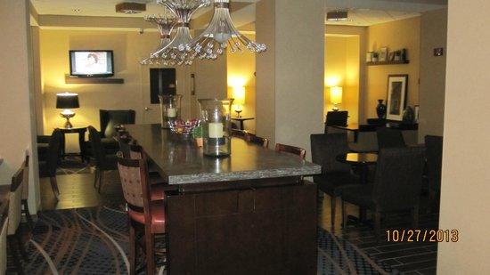 Hampton Inn Charlotte - Uptown: Dining area