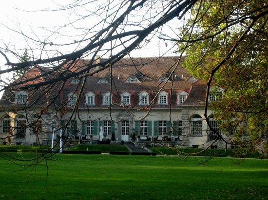 Schloss Kartzow: Schloßhotel - Rückfront