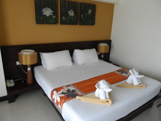 Buri Tara Resort: The spacious room