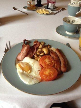Newgate House: Wonderful breakfast