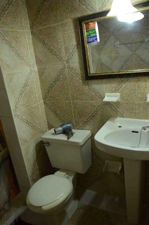 Hostal Amatista: baño 1