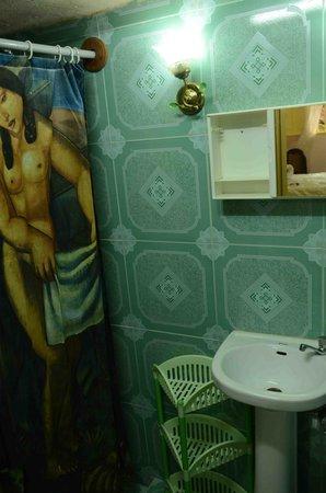 Hostal Amatista: baño 2