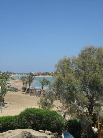 Three Corners Rihana Resort : Lagoon view from balcony