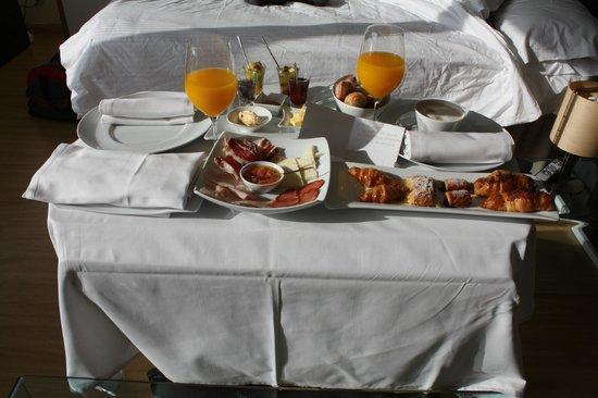 Villa Venecia Hotel Boutique: Desayuno en la habitación