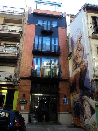 Hotel Molinos: EXTERIOR