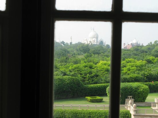 The Oberoi Amarvilas: The view from my room
