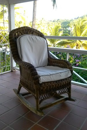 Marigot Beach Club And Dive Resort: Nice And Comfy Rocking Chair
