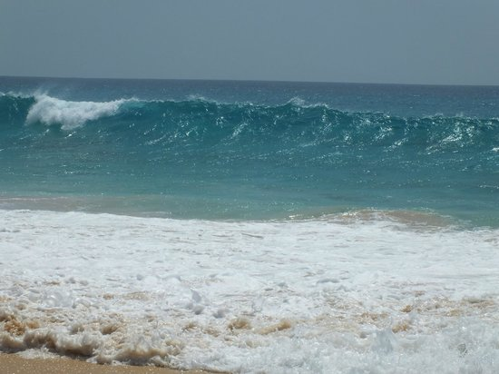 Hotel Riu Touareg: waves