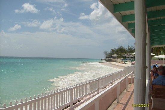 Butterfly Beach Hotel : Vista dal ristorante