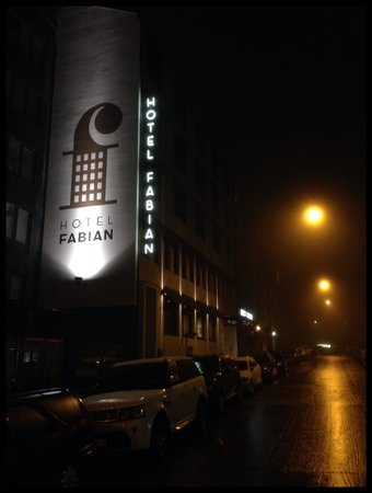 Fabian Hotel : Outside of hotel