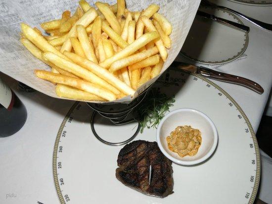 Captain's Finest : US-Beef mit Frites - excellent