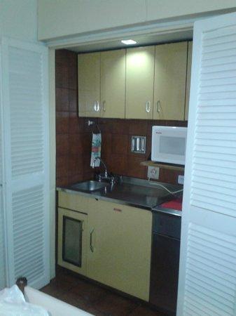 Bauen Suite Hotel : la cocina