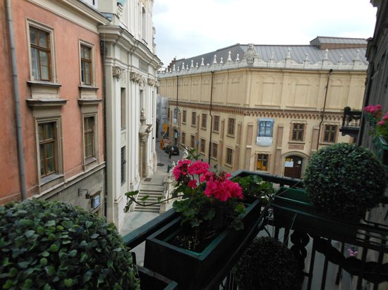 Hotel Francuski: Nice view from our balcony