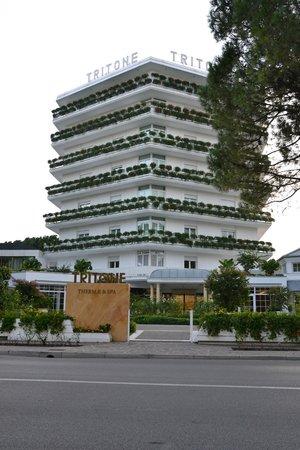Hotel Terme Tritone Thermae & Spa: Davanti dell'hotel