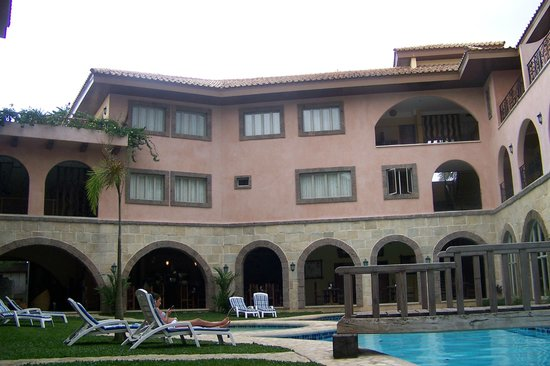 Corto del Mar Hotel : hotel view from the pool