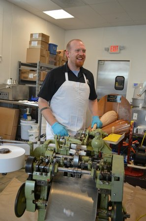 Dolle's Candyland, Inc: Andrew Dolle loves making salt water taffy!