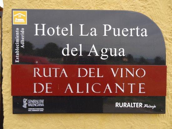 La Puerta del Agua: the place