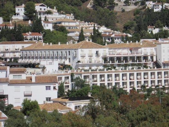 TRH Mijas: View towards the hotel
