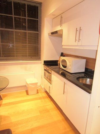 Hyde Park Suites : angolo cucina