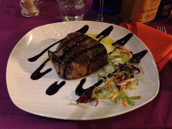 Novecento: Filetto olio rosmarino con glassa balsamica !