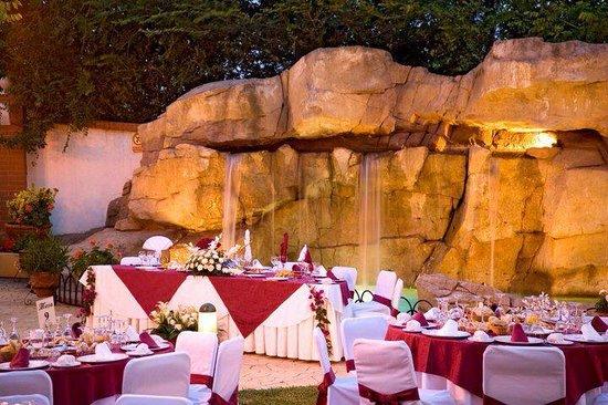 Hotel Zodiaco : Celebración de una boda en su fantástica terraza