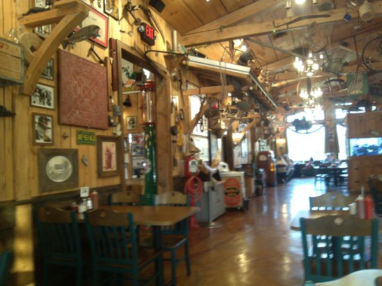 The Catfish House: inside decor
