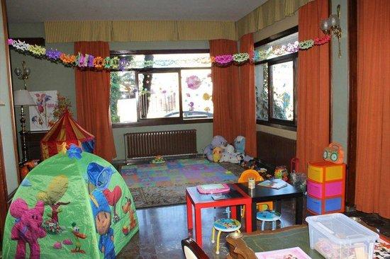 Hotel Zodiaco : Zona de juegos para los niños! Al fin he podido tomarme un café relajadamente sin estar pendient
