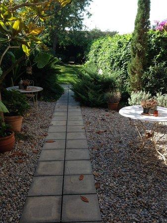 Les Hamaques: giardino