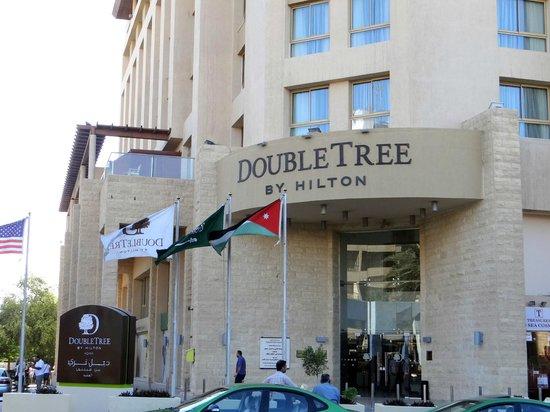 DoubleTree by Hilton Hotel Aqaba: hotel main entrance