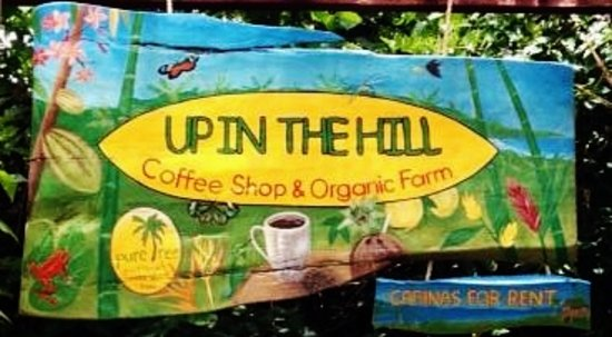 Up in the Hill - Coffee Shop & Organic Farm: Up In The Hill entrance