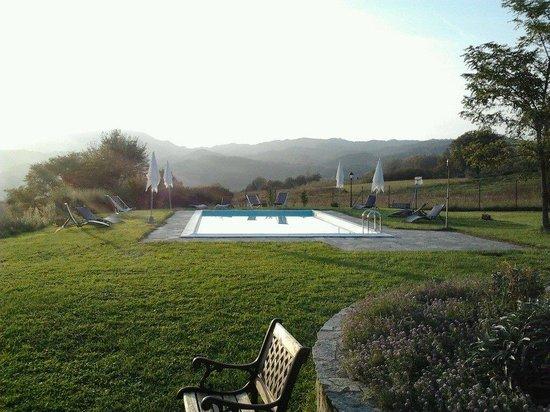 Il Vignolino Bed & Breakfast: la piscina