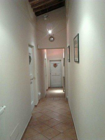 Il Vignolino Bed & Breakfast: il corridoio