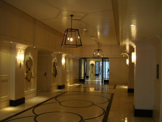 The London West Hollywood: Ballroom corridor