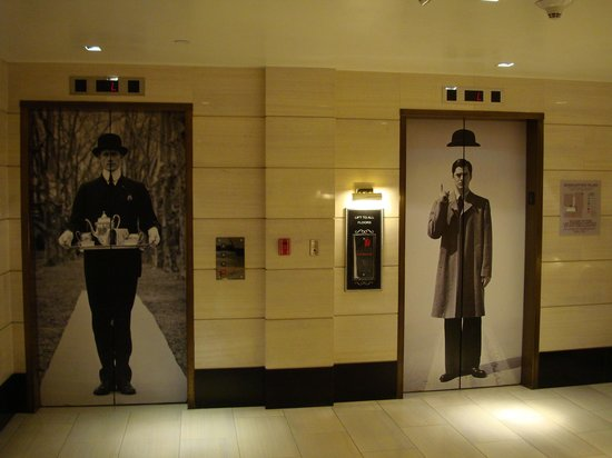 The London West Hollywood: Elevators