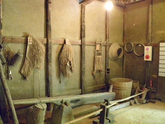 Shikoku Mura Village: Inside a house