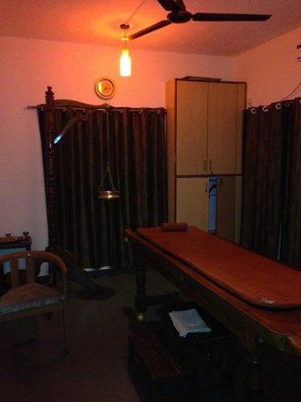 Sterling Karwar: Spa! try the shirodhara!