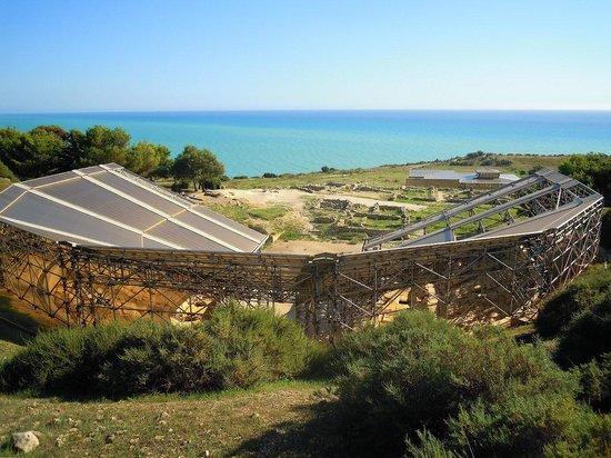 Eraclea Minoa: Anfiteatro visto dall'alto