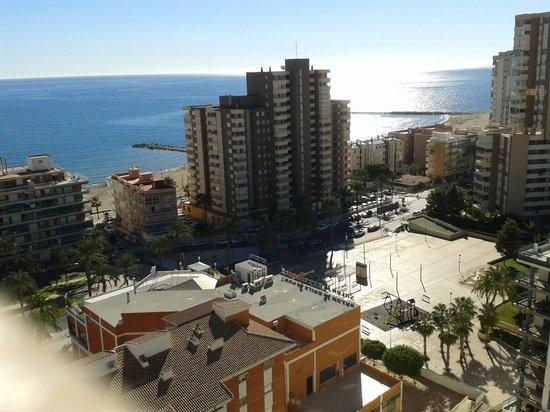 Hotel La Familia Gallo Rojo: Vista desde dormitorio