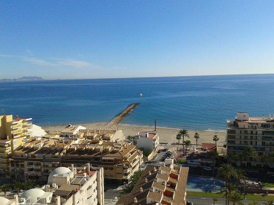 Hotel La Familia Gallo Rojo: vistas desde habitación