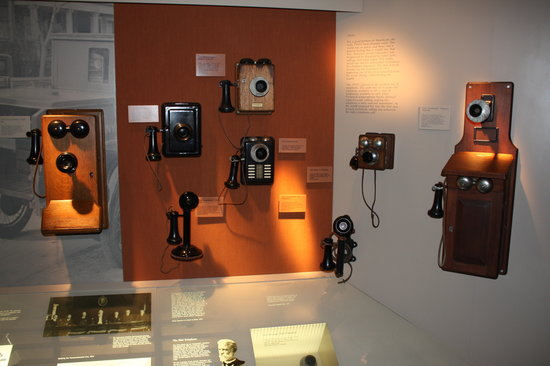 Telephone Museum: Some phones