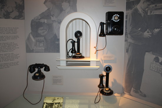 Telephone Museum: More phones