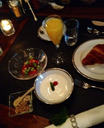 breakfast at la libertie