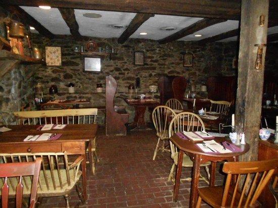 Dobbin House Tavern: inside the tavern area