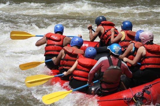 Tungurahua: rafting
