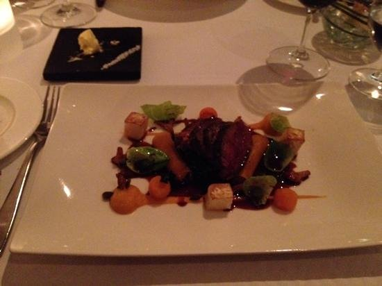 Lumiere: Venison main course
