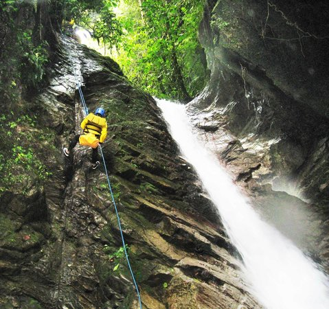 Tungurahua: canyoning