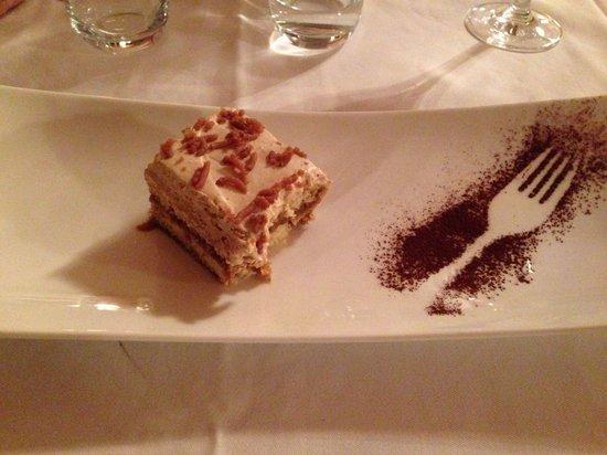 Hotel Wiesnerhof : tiramisù alle castagne presentazione piatto!